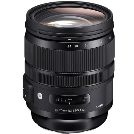 sigma 24 70mm f2.8 dg os hsm if art lens for canon
